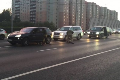 If You Get Into A Road Rage In Russia, You Might Be Kidnapped By Special Forces