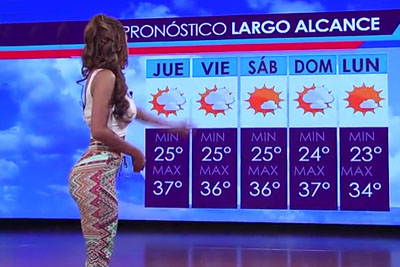 Is It Hot? In Mexico It's Even Hotter Because Of This Female Host!