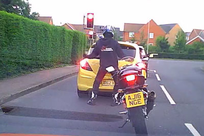 This Happy Dancing Biker From UK Is Spreading Around The Globe