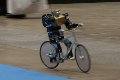 This Amazing Bike Riding Robot Can Cycle, Balance, Steer, And Correct Itself