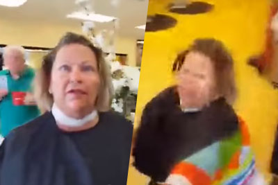 Insane Woman Goes Crazy On Guy Who Just Wants A Refund