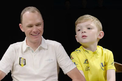 Team Sky Cyclists Get Asked Funny Questions By Kids