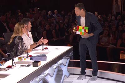 Genius Rubik's Cube Magician Steven Brundage Stuns Simon Cowell