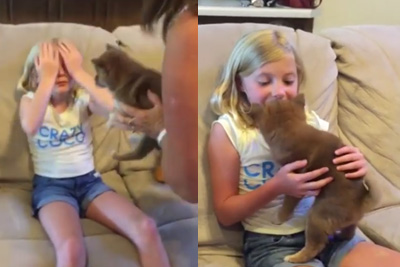 This Girl Has The Best Reaction To Getting A Puppy