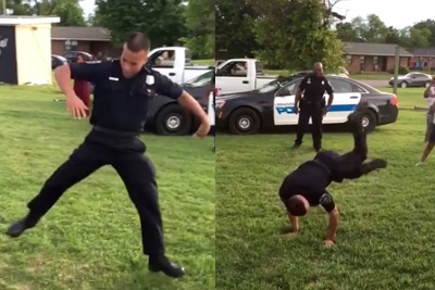 Watch This Breakdancing Cop's Incredible Moves