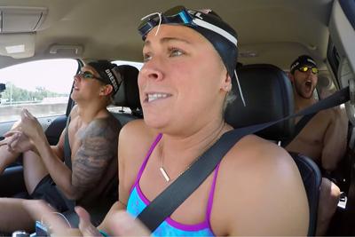 The U.S. Olympic Swim Team Does Car Pool Karaoke