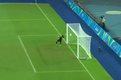 What A Fantastic Goal From Chinese Footbal Player In Rio