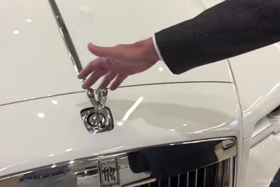 What Happens When You Try To Steal A Rolls Royce Hood Ornament