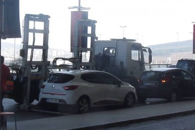 Quick Removal Of Wrongly Parked Car At Airport