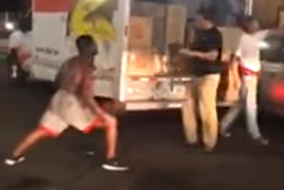Guy Messes With Trained MMA Fighter In Boston Chinatown, Then Gets What He Deserves