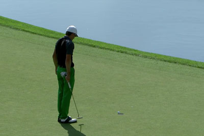 Is This Luckiest Golf Strike Ever?