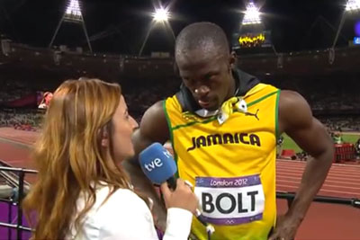 Usain Bolt Was Frustrated With Lack Of Respect, Turns Abruptly To Honor US National Anthem
