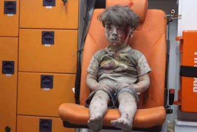 5-Year-Old Omran Is Being Saved From The Rubble After A Devastating Airstrike In Aleppo, Syria