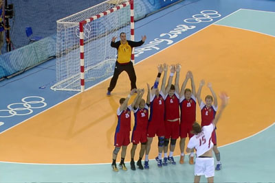 One Of The Most Iconic And Dramatic Moments In Olympic Handball