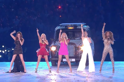 Spice Girls Are Back For The Last Olympics Closing Ceremony