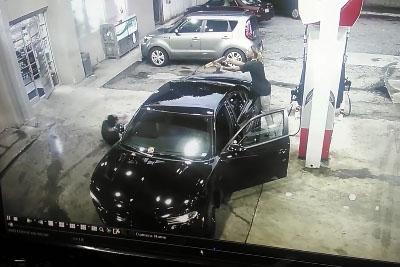 Crazy Shootout At Atlanta Gas Station Caught On Camera