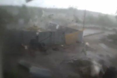 Remarkable Video Footage Of The Tornado In Russia