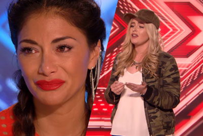 Caitlyn Vanbeck Leaves Judge Nicole Emotional On X Factor With Kelly Clarkson Hit