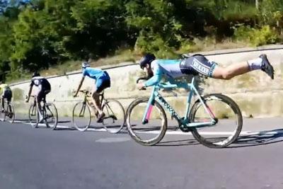 When The Physics Teacher Takes Apart In Tour De France