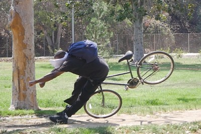 Bicycle Thieves From The Hood Get Most Painful Punishment