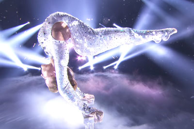 Sofie Dossi's Glittering Performance At America's Got Talent Will Make Your Jaw Drop