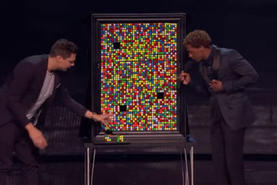 Magician Baffles Audience With Awesome Rubik's Cube Trick On America's Got Talent 2016