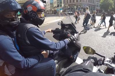 UK Biker Almost Got Bikejacked