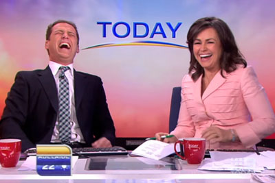 News Reporters Couldn't Resist Laughing After Their Female Coworker Said This
