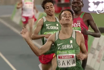 Algerian Paralympic Became A Sensation By Breaking The World Record