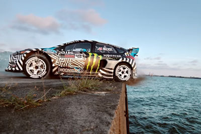 Ken Block's Gymkhana Nine Is Here - Raw Industrial Playground Is His New Track