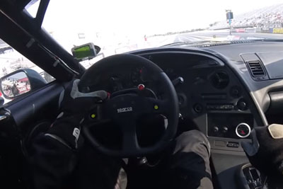 Toyota Supra With 1500Hp Slides Across Finish Line While On Fire