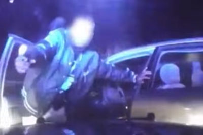 Ohio Cops Were Chasing A Suspect, Then He Shots At Their Car Up Close