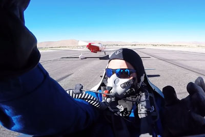 Pilot Was Waiting For A Clear Path, When Another Plane Hit Him