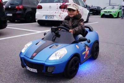 This Kid Owns Most Badass Power Wheels Car