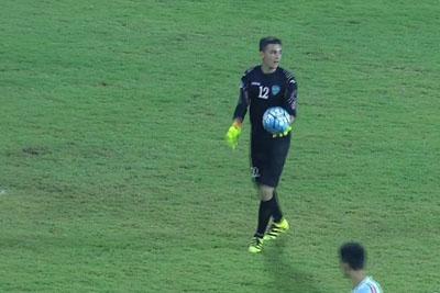 Uzbekistan Goalkeeper Jasurbek Umrzakov Scores From His Own Half