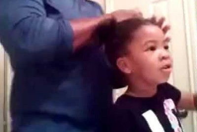 3-Year-Old Daughter Encouraging Dad That He Is Doing A Good Job