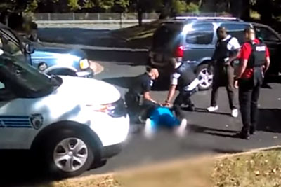 This Is Keith Lamont Scott's Shooting Video Released By His Family