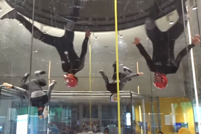 Indoor Skydivers Will Blow You Away With This Awesome Performance