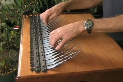 Have You Ever Seen This Musical Instrument? Playing On It Is So Relaxing!