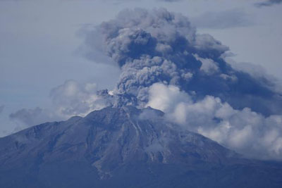 VIDEO: Indonesia Volcano Suddenly Erupts, Trapping Tourists