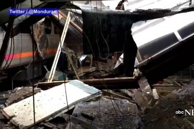 Video Shows Aftermath Of Deadly New Jersey Train Crash