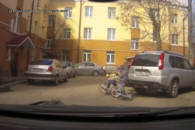 Road Crash And Figt From Russia Captured On Camera