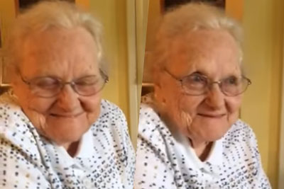 Watch This Adorable 92-Year-Old Woman Listen to Willie Nelson Sing Her Song