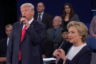 "This Video Of Hillary Clinton And Donald Trump Singing ""The Time of My Life"" Is Hilarious"