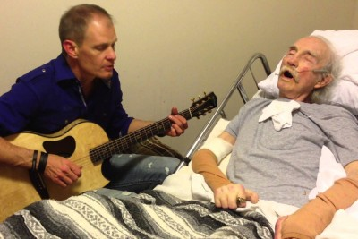 Man Sings Song For His Dying Father And It's Really Heartbreaking