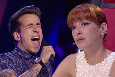Man Totally Nails Adele's Song On The Voice Portugal