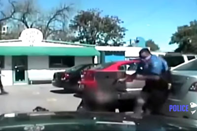 Police Dashcam Captures Fatal Shooting Of Car Burglary Suspect In Austin