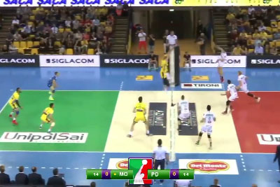 Is This The Craziest Moment At The Volleyball Match?