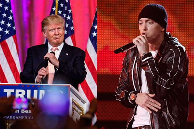 Eminem Blast Donald Trump Supporters On New Song 'Campaign Speech'