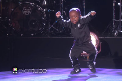 This 4-Year-Old Proves He's A Superstar With His Performance On 'Ellen'